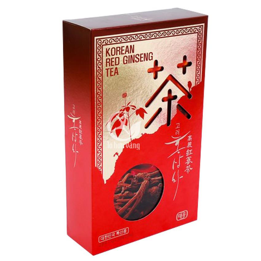 Hình ảnh hộp Trà Hồng Sâm Hàn Quốc Taewoong 100 Gói