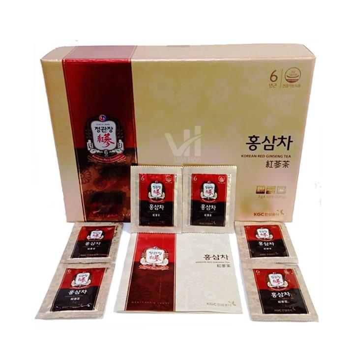 Sản phẩm trà hồng sâm KGC Cheong Kwan Chang 100 gói