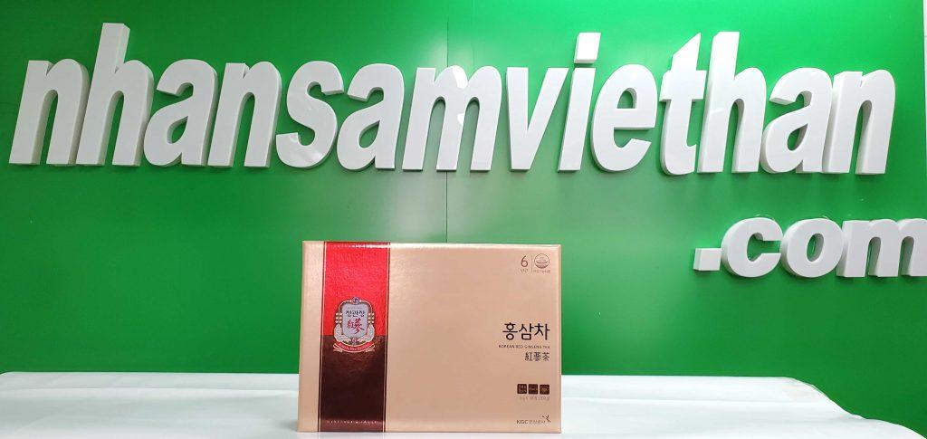 Hình ảnh: Trà hồng sâm KGC Cheong Kwan Chang 100 gói