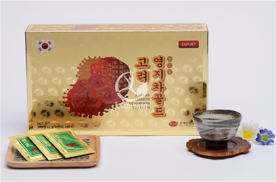 Hình ảnh trà linh chi Hàn Quốc KGS 300g