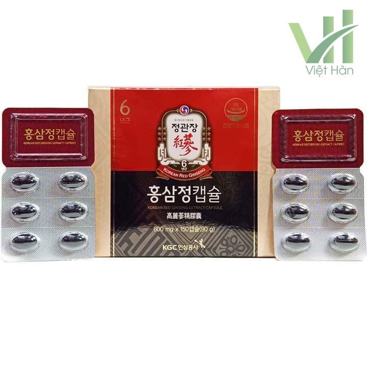 Sản phẩm viên hồng sâm chính phủ Hàn Quốc KGC 100 viên x 3 hộp