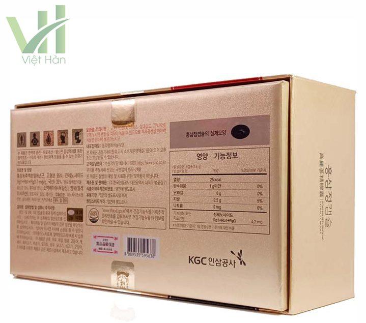 Góc sản phẩm viên hồng sâm chính phủ Hàn Quốc KGC 150 viên x 2 hộp