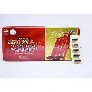 Viên hồng sâm Hàn Quốc Dongwon 120 viên là sản phẩm được sản xuất từ hồng sâm 6 năm tuổi 100%