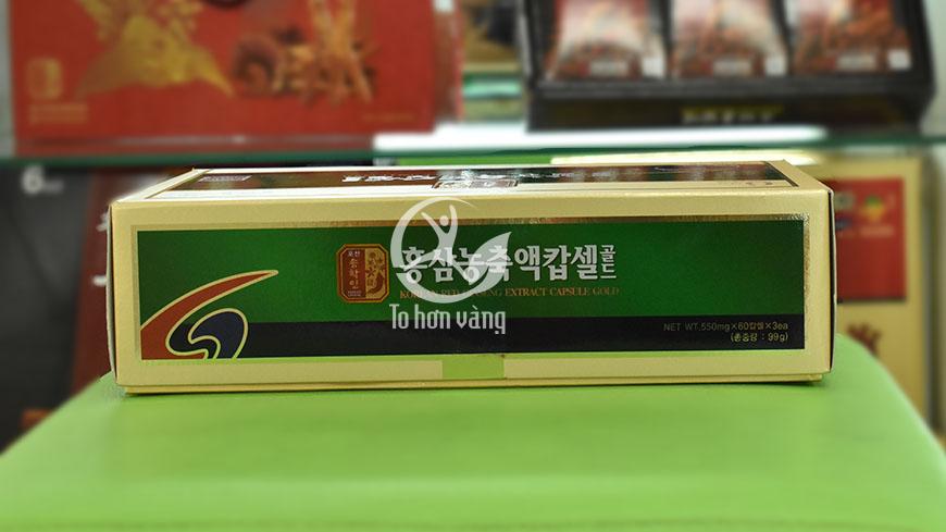 Hình ảnh bên trong hộp Viên Hồng Sâm Pocheon 180 Viên