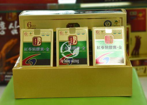 Hình ảnh: Viên hồng sâm Pocheon 3 hộp x 60 viên