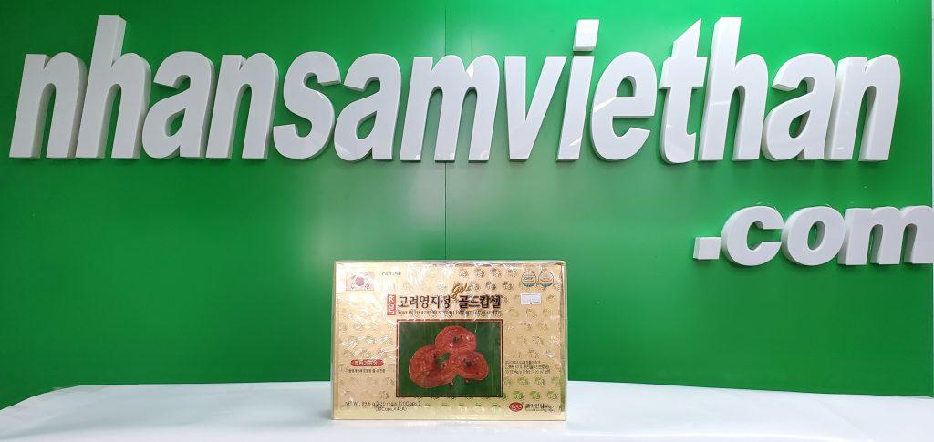 Hình ảnh: Viên linh chi KGS Hàn Quốc hộp 30 viên x 4 hộp