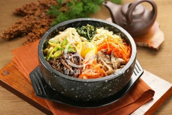 Cơm trộn nhân sâm là món ăn phổ biến ở Hàn Quốc