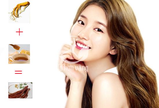 Hồng sâm giúp trẻ hóa làn da của phụ nữ