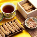 Hồng sâm khô dùng để pha trà