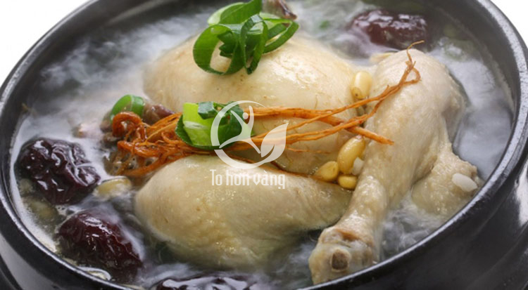 Món gà tần sâm