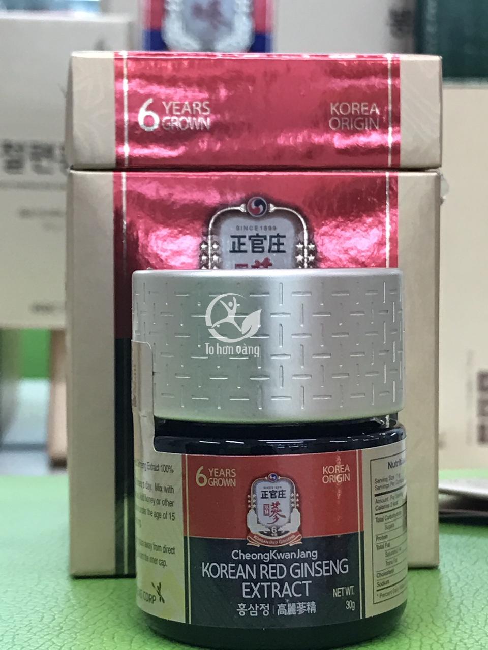 Mỗi ngày sử dụng 2 - 3g cao hồng sâm KGC là cung cấp đầy đủ chất dinh dưỡng