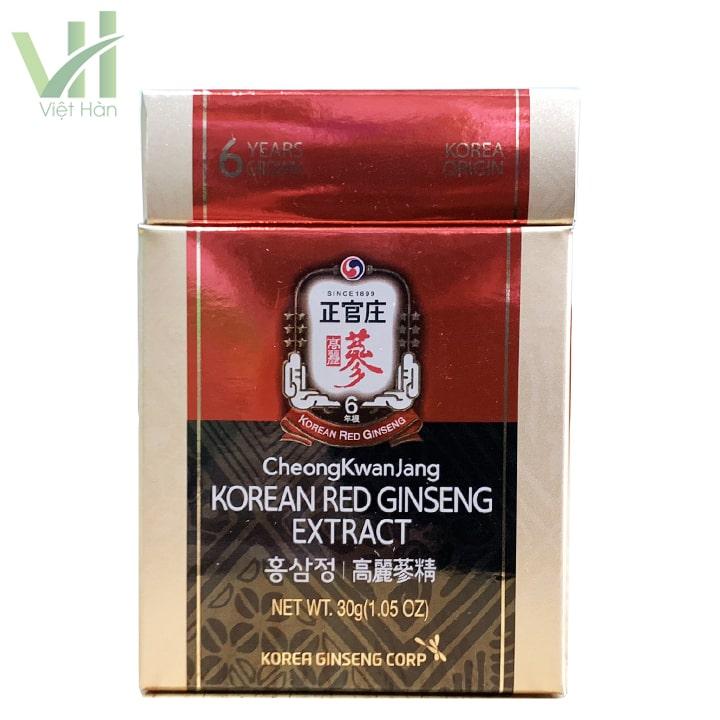 Cao hồng sâm KGC 1 lọ 30 g là sản phẩm cao cấp phù hợp sử dụng với nhiều đối tượng