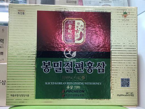 Hình ảnh Hồng sâm thái lát tẩm mật ong 200g Pocheon – Sản phẩm chính hãng hàn Quốc