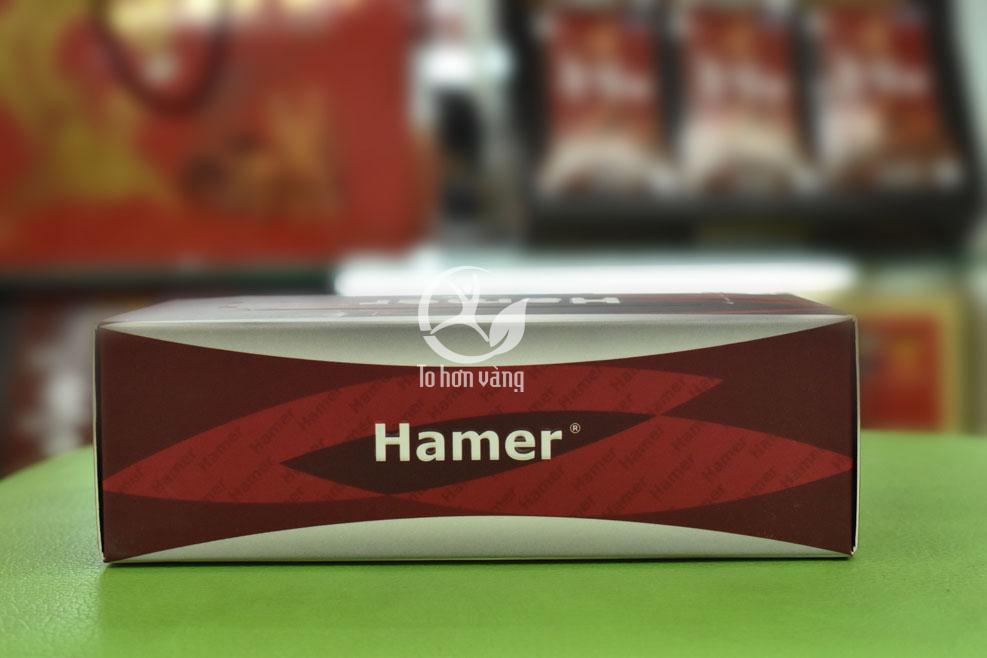 Hình ảnh góc hộp Kẹo sâm Hamer