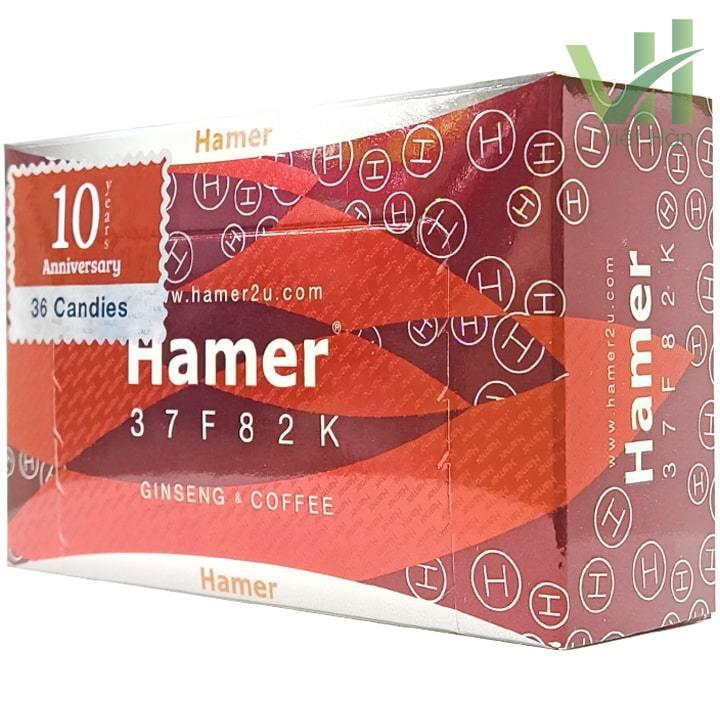 Mặt trước góc phảisản phẩmKẹo sâm Hamer Mỹ chính hãng