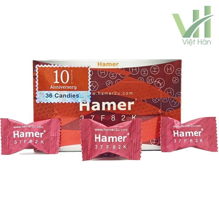 Sản phẩm Kẹo sâm Hamer Mỹ chính hãng