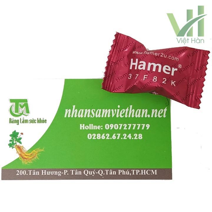 Sản phẩm Kẹo sâm Hamer Mỹ chính hãng - 1 viên lẻ