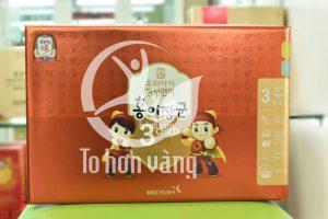 Hồng sâm baby Hàn Quốc với nhiều thnahf phần dưỡng chất quý giá giúp tăng cường sức khỏe cho trẻ