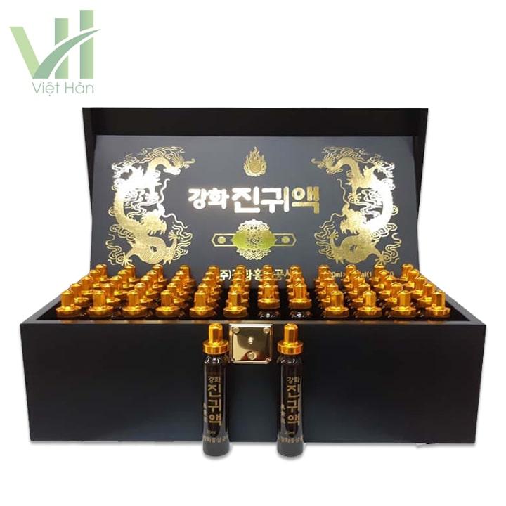 Sản phẩm tinh chất đông trùng hạ thảo Hàn Quốc 60 ống Kanghwa