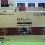Tinh dầu thông đỏ Hàn Quốc là món quà quý dành tặng người thân trong các dịp lễ Tết
