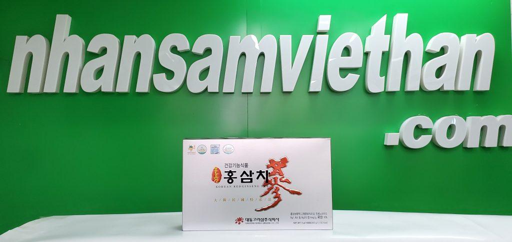 Hình ảnh: Trà hồng sâm 3g x 100 gói Daedong - Tiện lợi và bổ ích cho người bận rộn