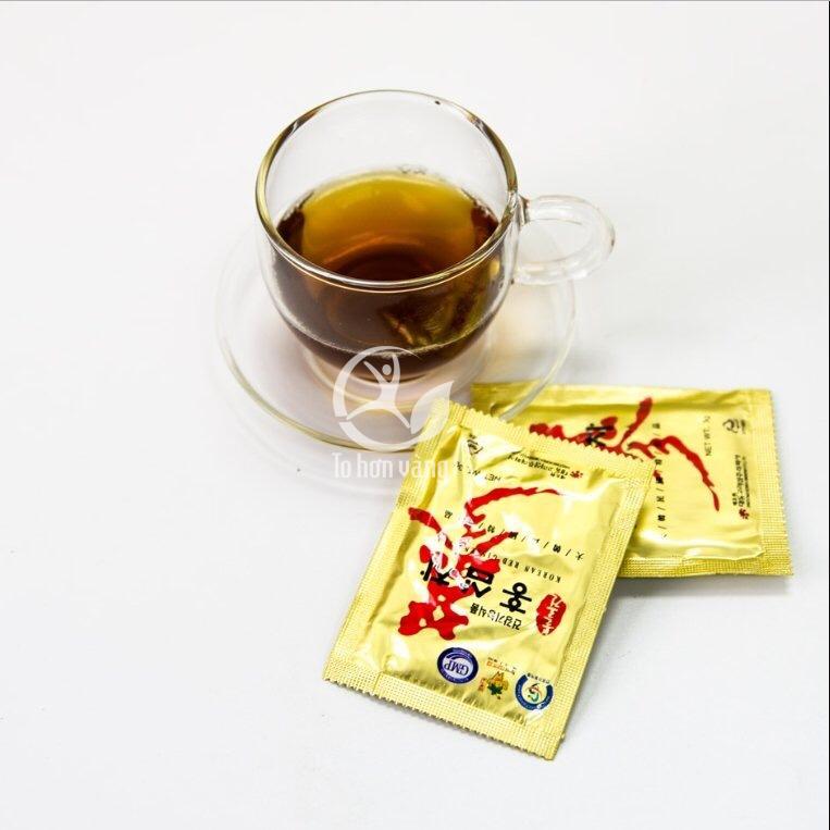 Sử dụng trà hồng sâm thường xuyên trong thời gian dài không những đem lại hiệu quả cho sức khỏe mà còn giúp da dẻ hồng hào và sáng mịn