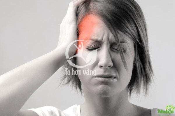 Nhức đầu là biểu hiện đầu tiên và thông thường của người cao huyết áp