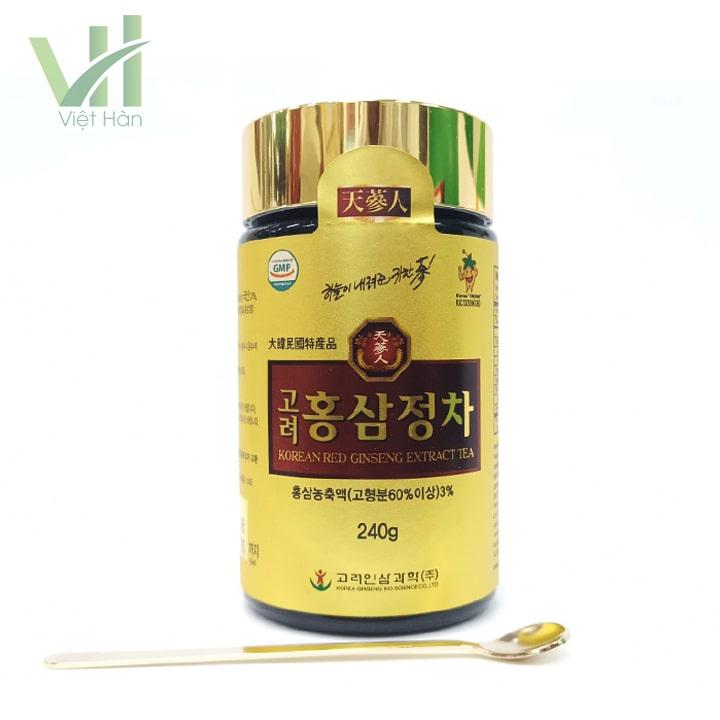 <em>Sản phẩm cao hồng sâm Bio 240g - Chiết xuất từ nhân sâm</em>