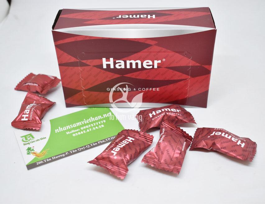 Sử dụng kẹo sâm Hamer có tác dụng tăng cường sức khỏe tình dục vượt trội, mang đến cho bạn một cơ thể săn chắc, sức bật duy trì cuộc yêu lâu hơn.
