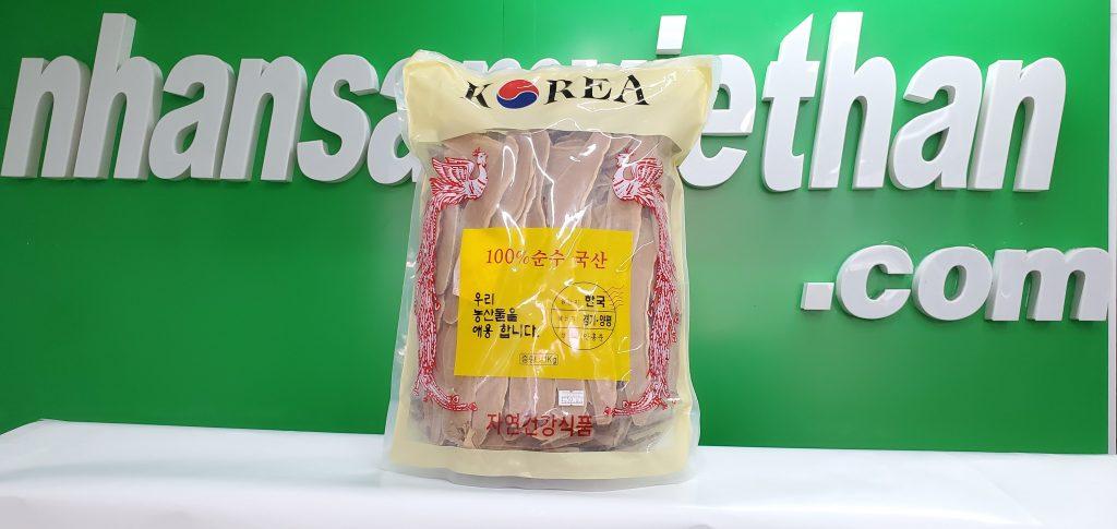 Hình ảnh: Nấm linh chi Hàn Quốc thái lát 1 kg