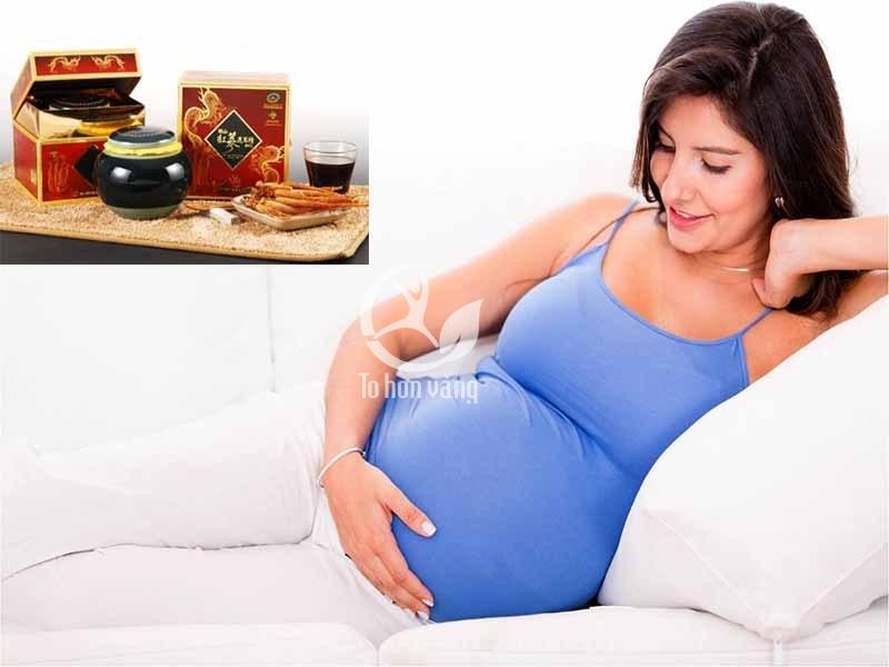 Phụ nữ có thai cũng có thể sử dụng cao hồng sâm để bồi bổ cơ thể, nhưng phải hết sức cẩn thận dưới sự hướng dẫn của bác sĩ