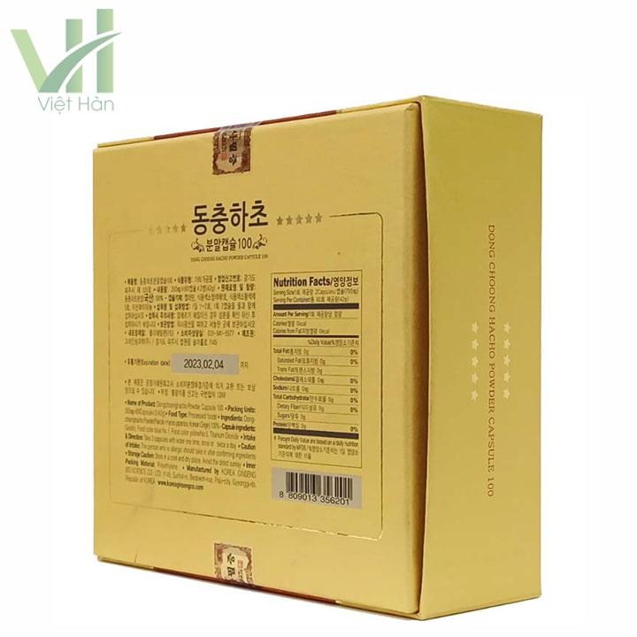 Góc sản phẩm viên đông trùng hạ thảo Bio Apgold - Bổ thận, ích tinh
