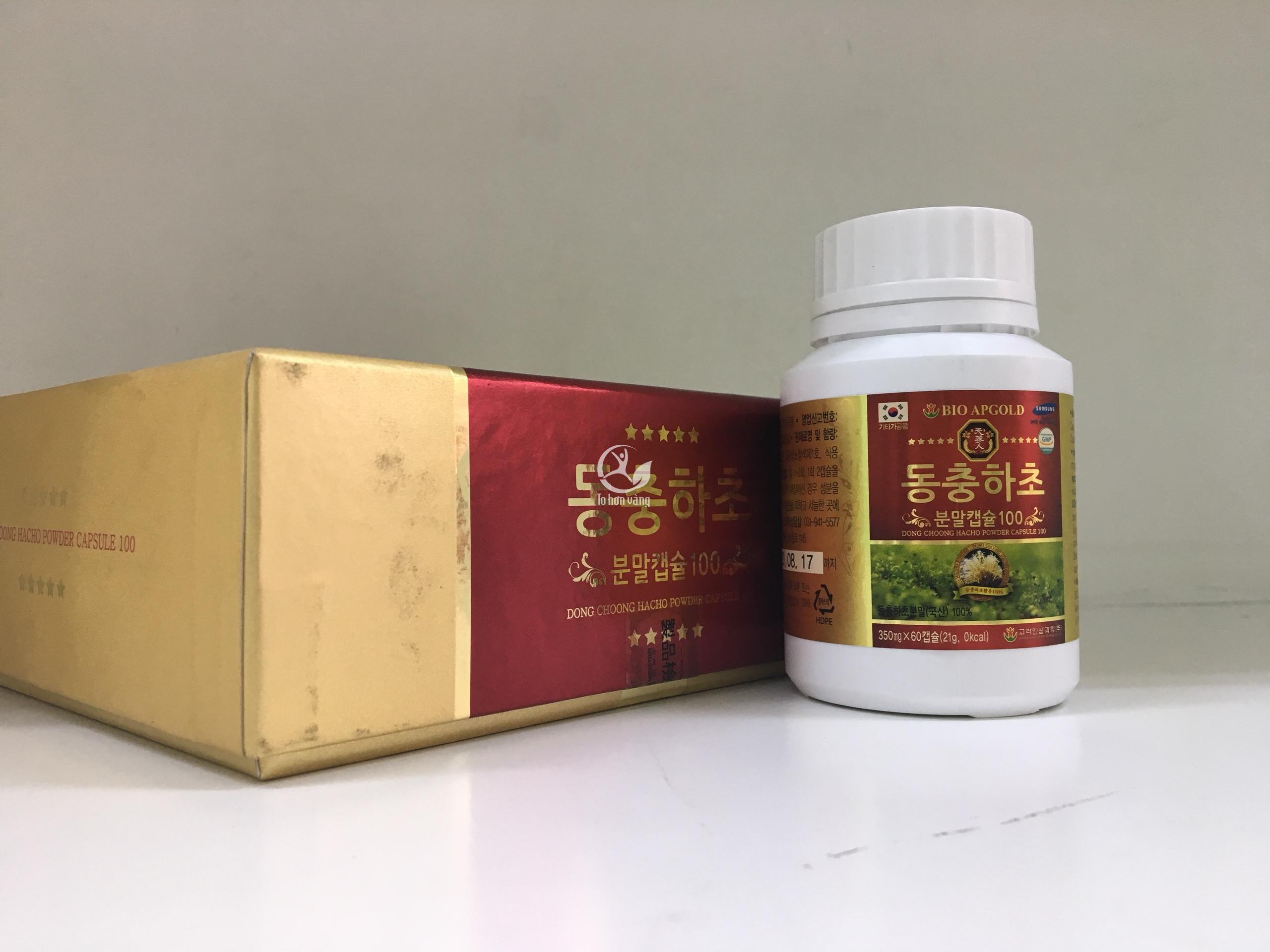 Ngoài ra, viên đông trùng hạ thảo còn có tác dụng bổ thận, tráng dương, tăng khả năng hưng phấn ở nam giới