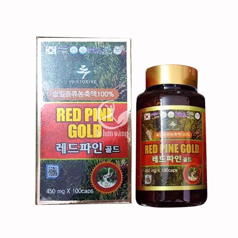Viên tinh dầu thông đỏ Red Pine Gold có tác dụng hiệu quả đối với những người rối loạn tiền đình, mỡ nhiễm máu, tim mạch,...