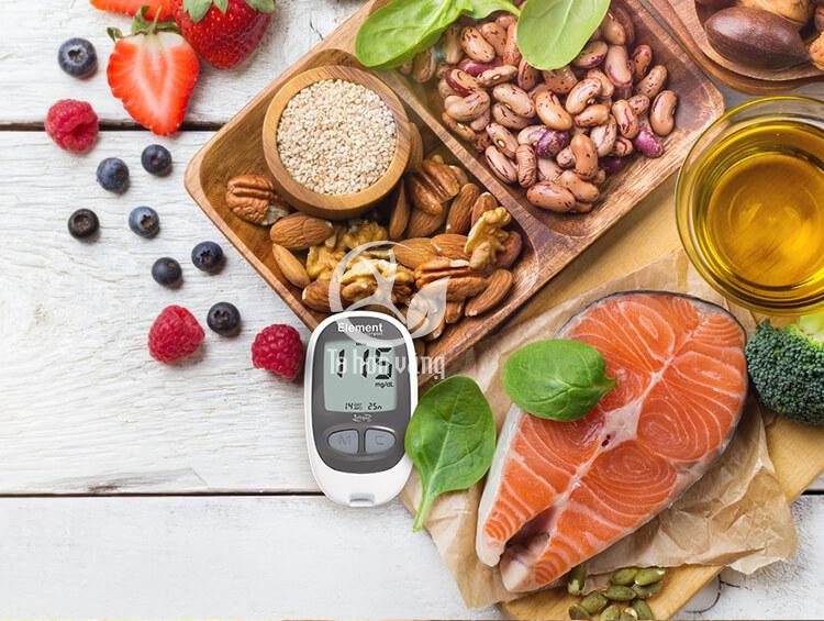 Chế độ ăn hợp lí là nền tảng cho kế hoạch điều trị tiểu đường, người bệnh cần biết và tuân thủ.