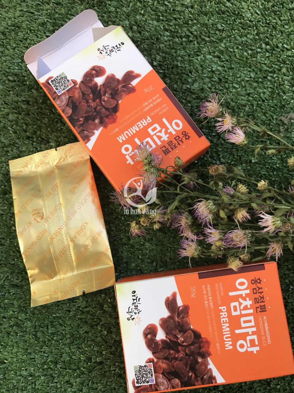 Hồng sâm lát tẩm mật ong Achimadang được sản xuất từ những củ hồng sâm kho chất lượng nhất trãi qua nhiều công đoạn lựa chọn kỹ càng