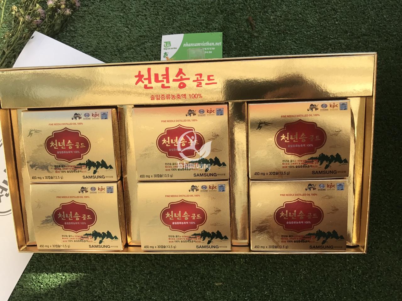 Không nên sử dụng tinh dầu thông đỏ Cheonnyeon Song cho phụ nữ có thai và trẻ em