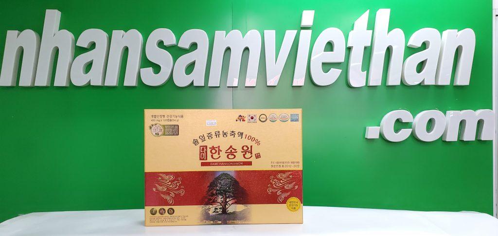 Hình ảnh: Tinh dầu thông đỏ Dami Hansongwon 120 viên
