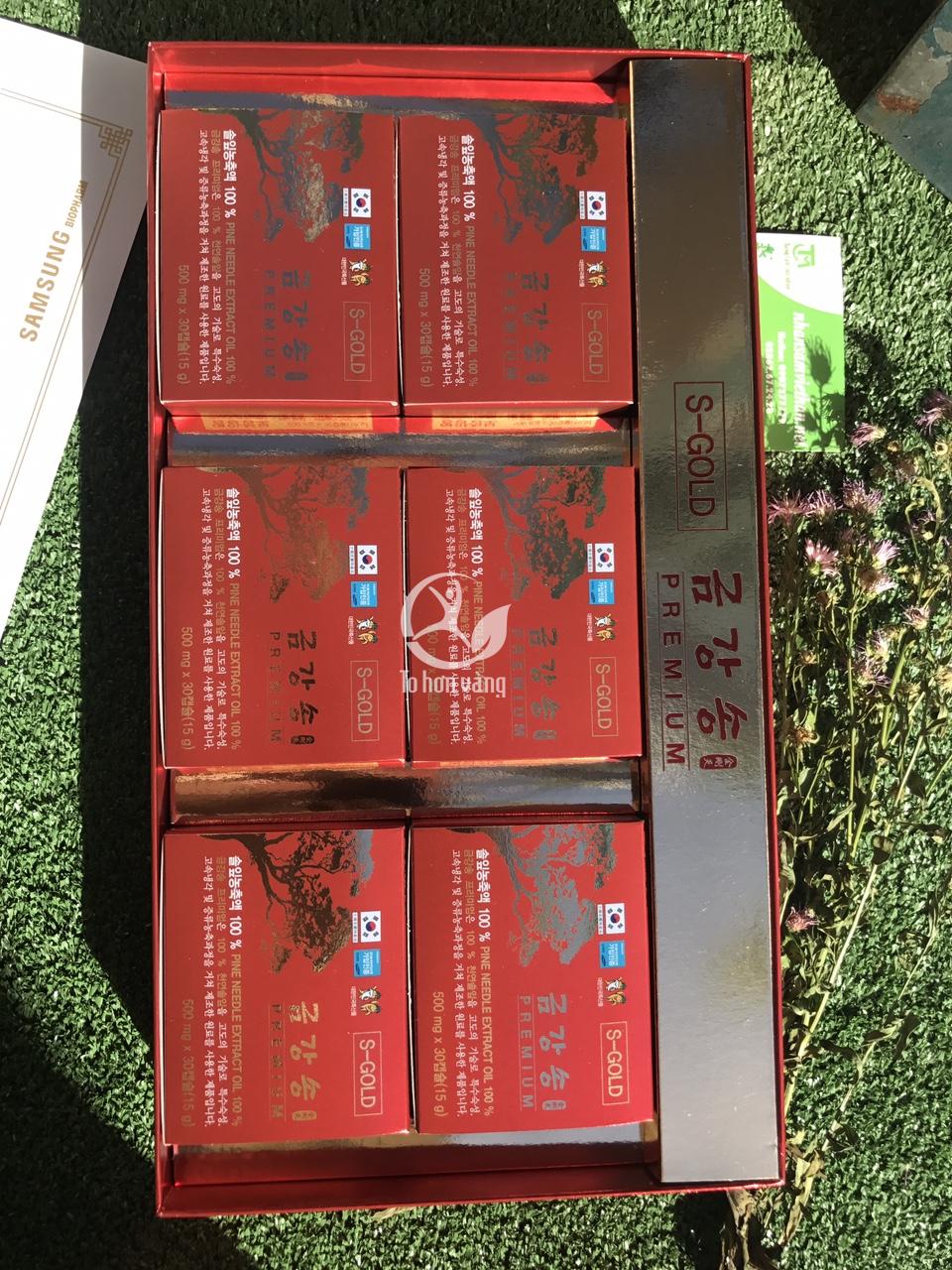 Viên uống tinh dầu thông đỏBio Pharm dạng viên là một sản phẩm mới của thương hiệu Samsung. Được chiết xuất từ 100% lá cây thông Hàn Quốc