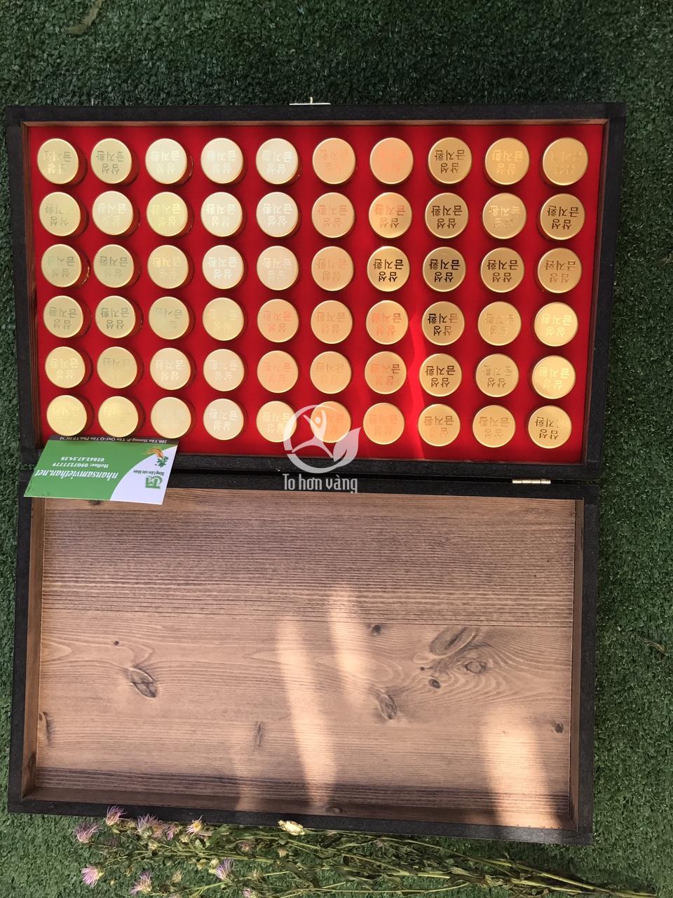 An cung ngưu hoàng hoàn là sản phẩm thảo dược nổi tiếng của Hàn Quốc, dựa trên bài thuốc độc đáo của y học Trung Quốc