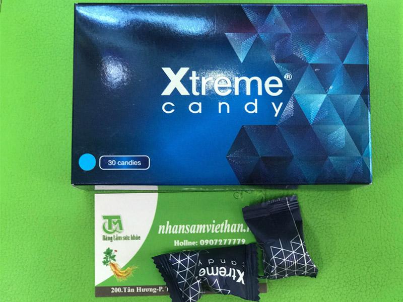 Mô tả hình ảnh hộp kẹo sâm Xtreme
