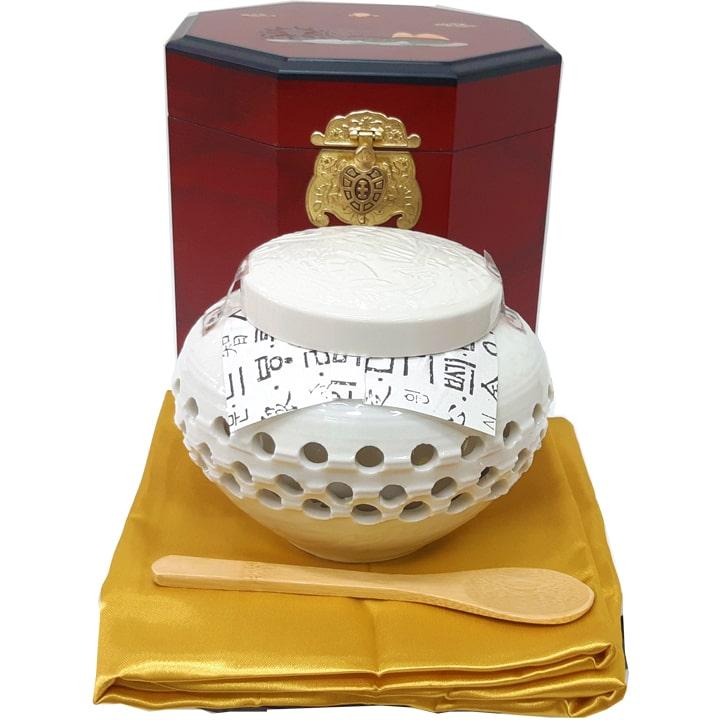 Chi tiết sản phẩm Cao Hồng Sâm Hoàng Hậu Bio 500gram hộp gỗ