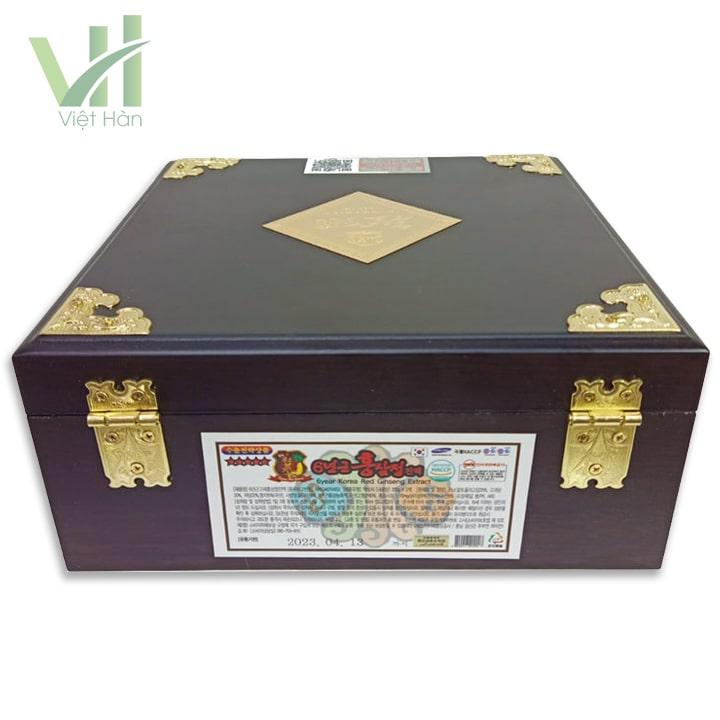 <em>Sản phẩm Cao Hồng Sâm Kanghwa Hàn Quốc 250g x 2 hộp gỗ</em>