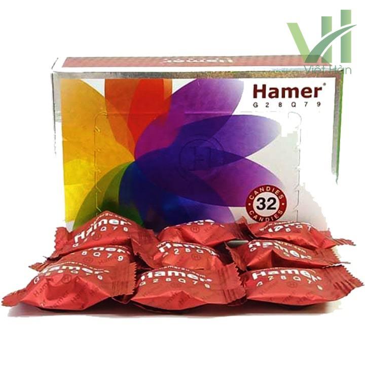 Sản phẩm Kẹo Sâm Hamer Malaysia nội địa 9 viên lẻ