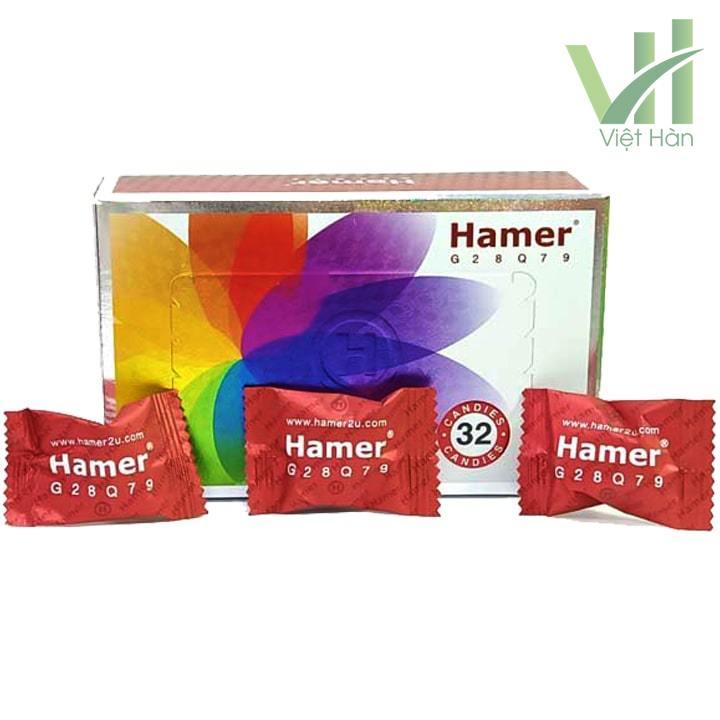 Sản phẩm Kẹo Sâm Hamer Malaysia nội địa 3 viên lẻ