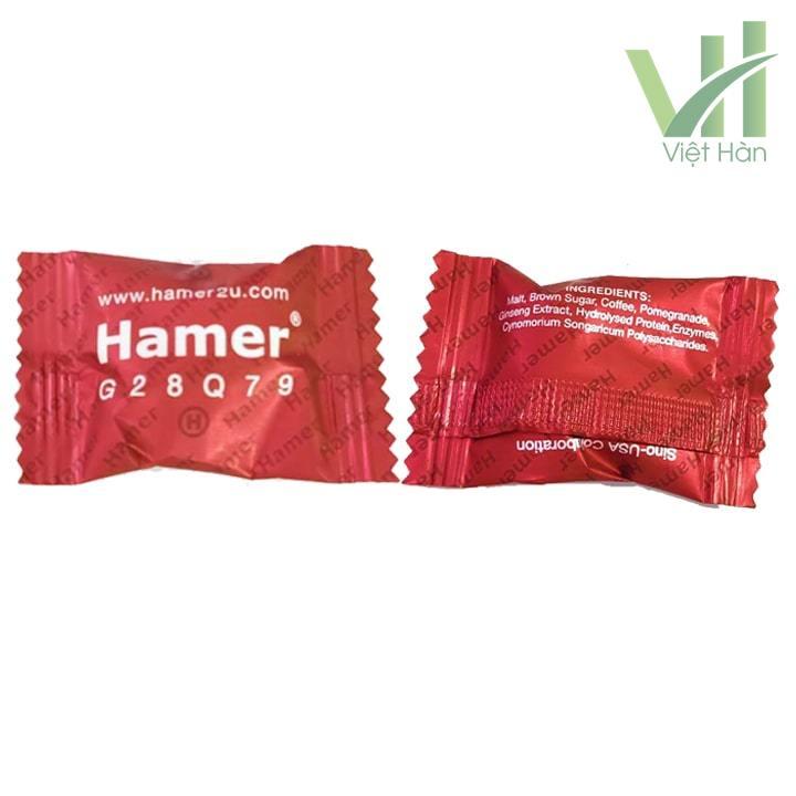 Chi tiết sản phẩm Kẹo Sâm Hamer Malaysia nội địa viên lẻ