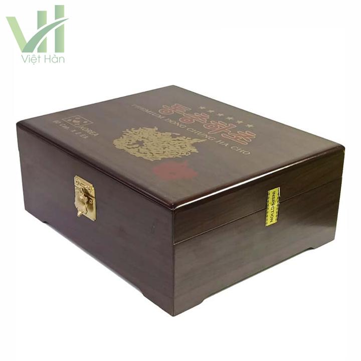 Sản phẩm viên Đông Trùng Hạ Thảo 90 viên x 2 lọ hộp gỗ