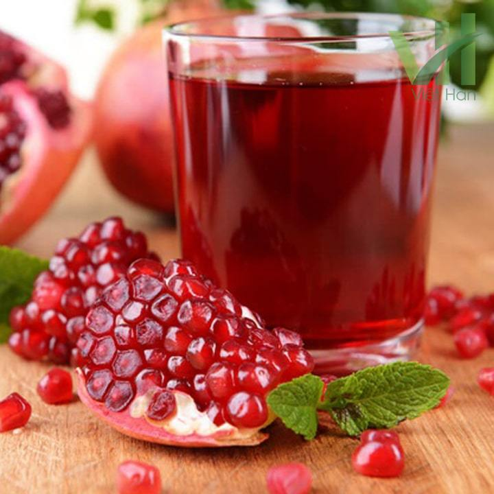 Hình ảnh quả lượu và nước ép lượu thơm ngon rất tốt cho sức khỏe