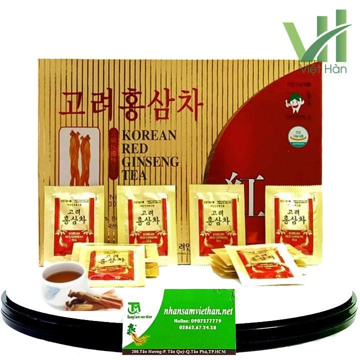 Trà hồng sâm Hàn Quốc KGS 3g X 100 gói