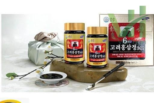 Hình ảnh: Cao hồng sâm 365 Hàn Quốc